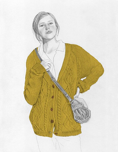 495x639 Drawing, Illustration, Knit, Knitted, Knitwear, Unban Outfitters