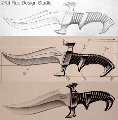 391x396 Kit Rae Fantasy Art Other Knives List