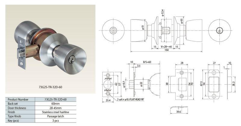 800x419 High Security Door Knob Lock By Japanese Door Handle Manufacturer