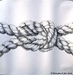 236x242 Drawing Of A Knot In A Rope Drawings Drawings