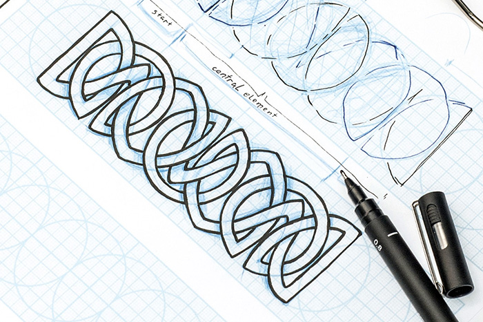 700x466 How To Design A Celtic Knot Instructions And Inspiration Adobe Blog