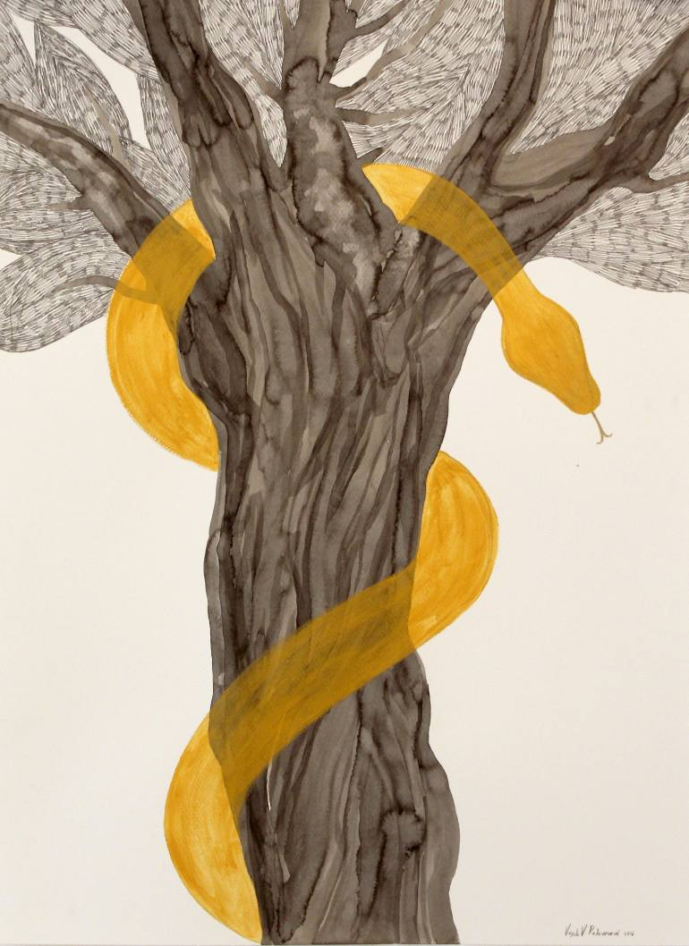 770x1058 Saatchi Art Tree Of Knowledge Drawing By Vojislav Radovanovic