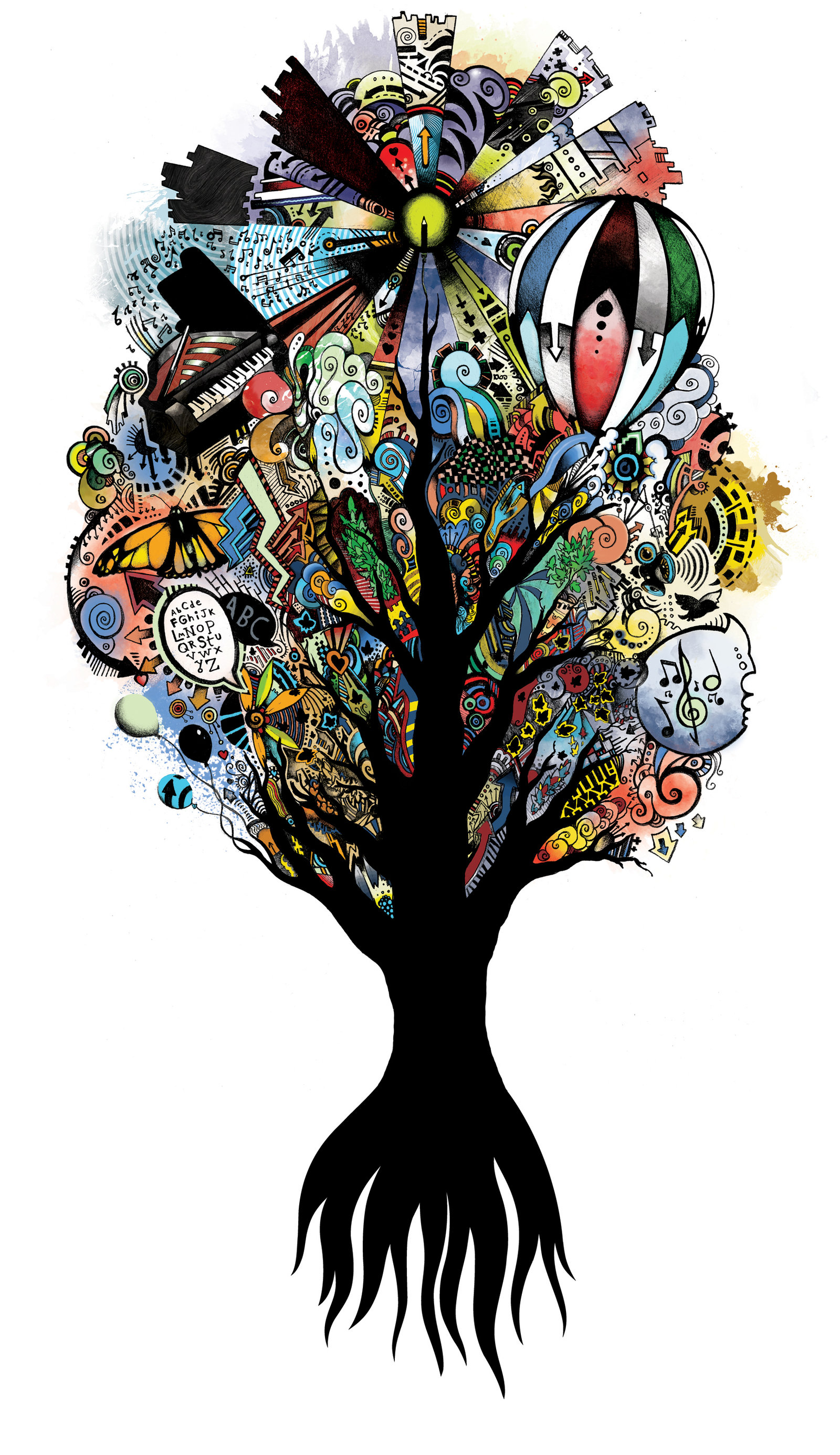 1600x2770 Tree Of Knowledge By Inanis Animus