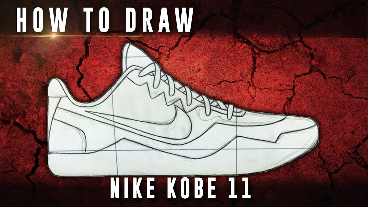 1280x720 How To Draw Nike Kobe 11