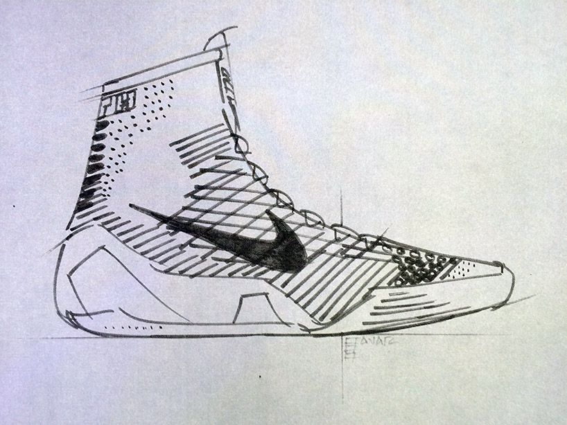 818x614 Kobe 9 Elite Flyknit High Top Basketball Shoe By Nike Kobe