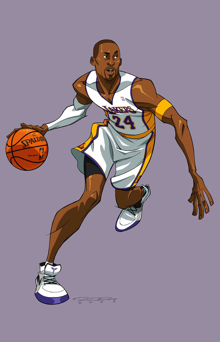 718x1112 Asvkobe Bryant By Kharyrandolph On Art Amp Basketball
