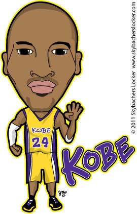 270x419 Kobe Byrant Cartoon Skybacher's Locker