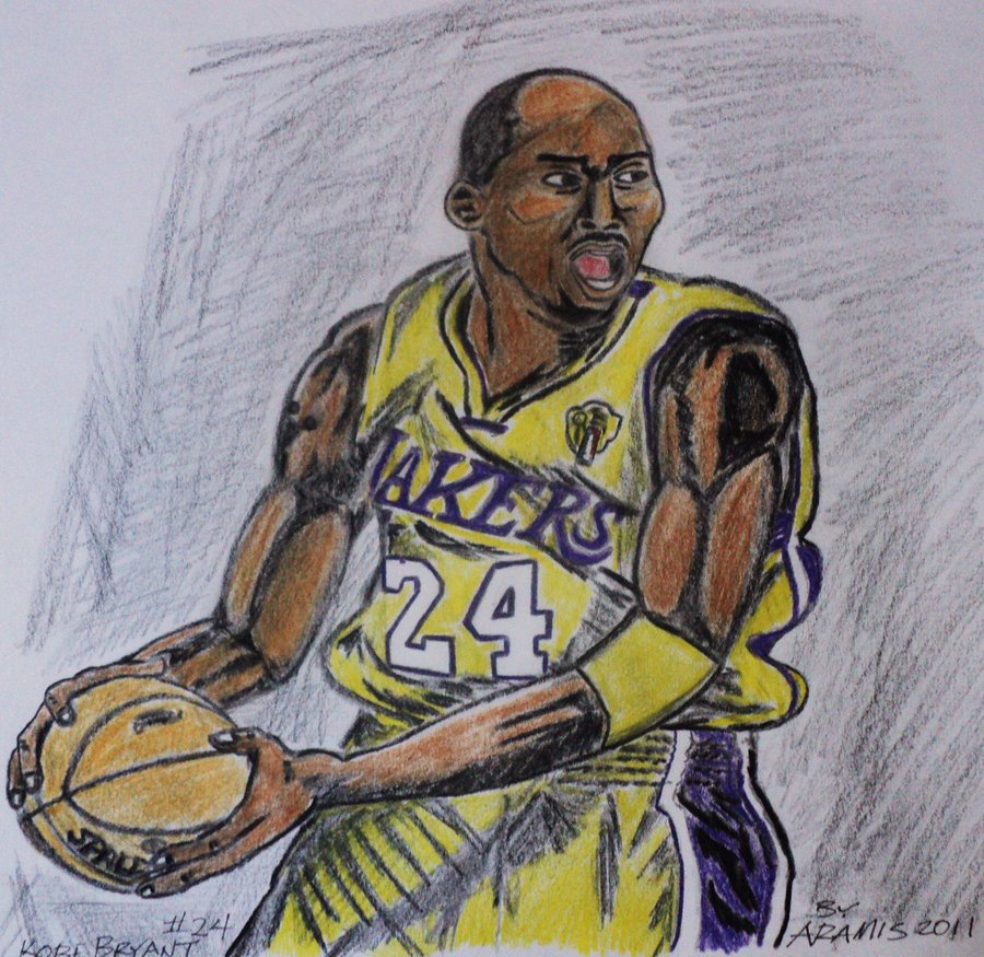 900x875 Kobe Bryant Color Pencil By Orion310