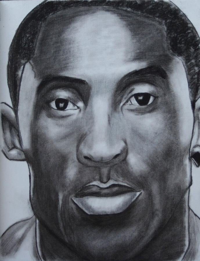 689x900 Kobe Bryant Drawing By Aaron Balderas