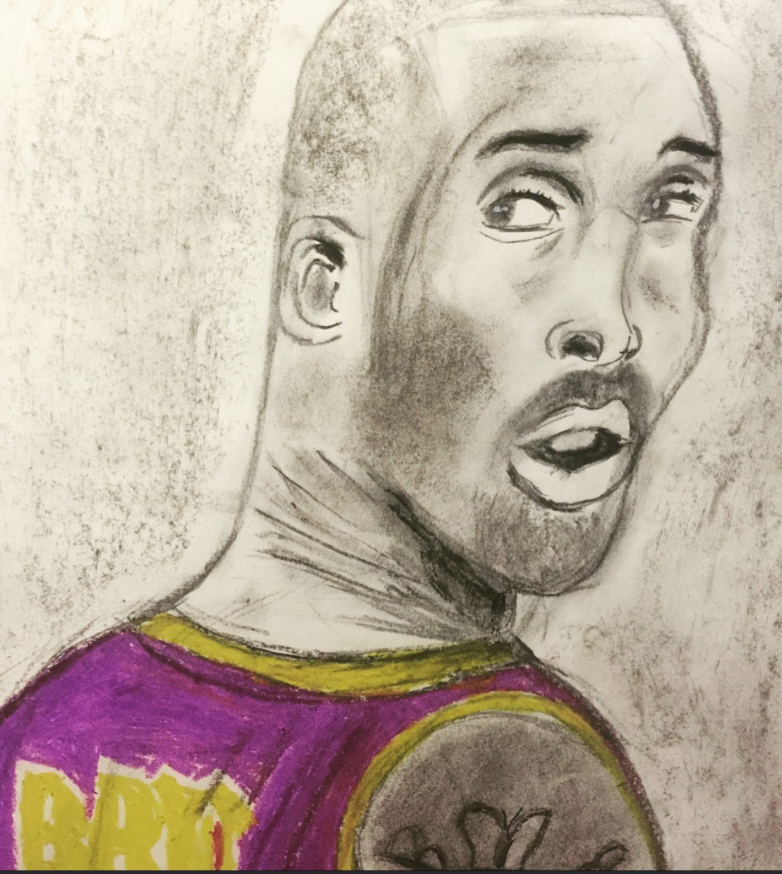 1108x1239 Kobe Bryant Drawing By Monde