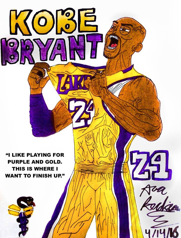 730x960 Kobe Bryant The Legend's Greatest Tribute Drawing By Prime55