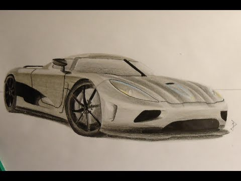 480x360 Koenigsegg Agera R Speed Drawing