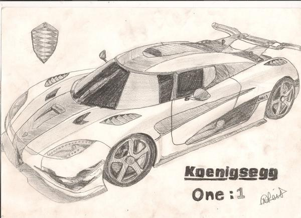 600x436 Kyle Reid On Twitter @koenigseggaab My Drawing Of The Koenigsegg