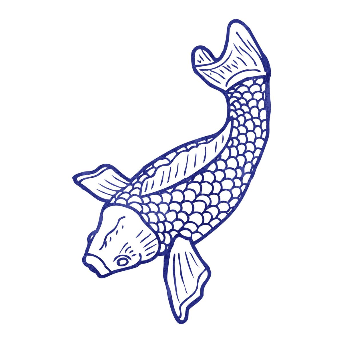 1200x1200 Tips For Drawing The Symbolic Koi Fish In A Few Simple Steps