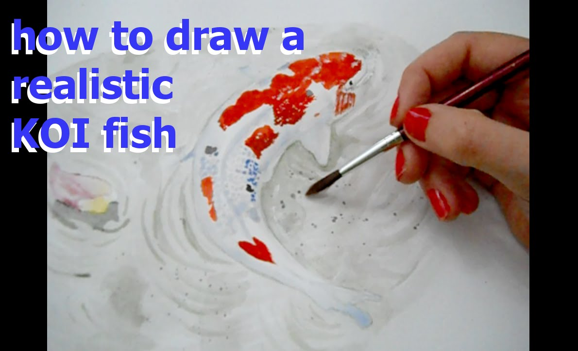 1190x724 How To Draw And Paint Koi Fish In Watercolor