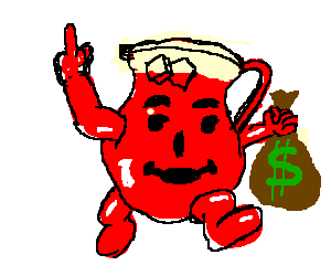 300x250 Kool Aid Man Unable To Bust Through Wall.
