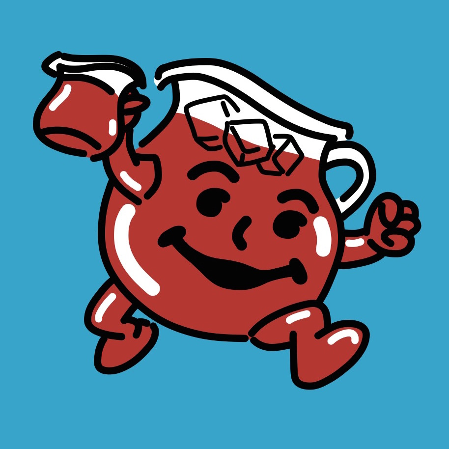 914x914 K Is For Kool Aid Man! By Joeljayjulian