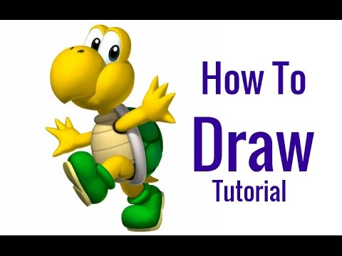 480x360 How To Draw Koopa Troopa