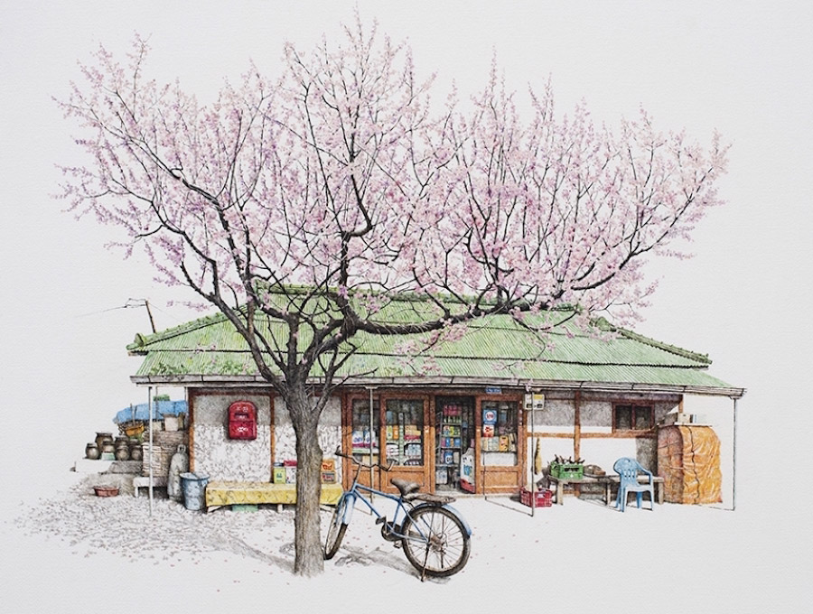 900x680 Artist Me Kyeoung Lee Spends 20 Years Drawing South Korean