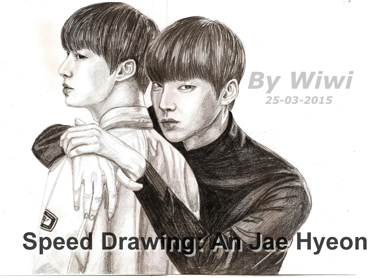 3000x2137 Speed Drawing An Jae Hyeon (Blood Korean Drama