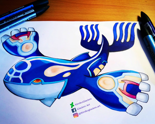 320x256 Kyogre Drawings On Paigeeworld. Pictures Of Kyogre
