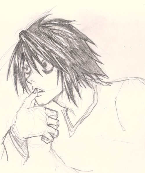 500x596 L (Death Note) By Lethargia32