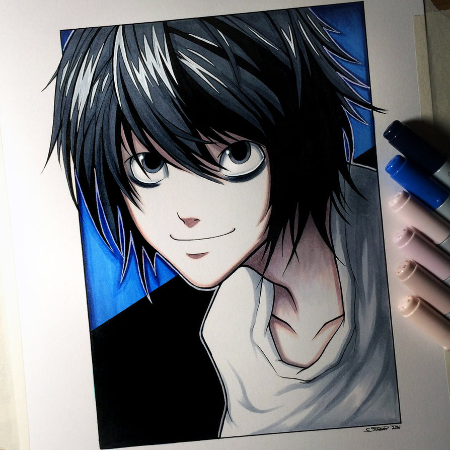 894x894 L From Death Note
