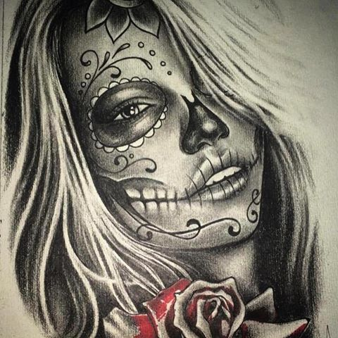 la catrina drawing at free for personal use la catrina drawing of your choice. Black Bedroom Furniture Sets. Home Design Ideas