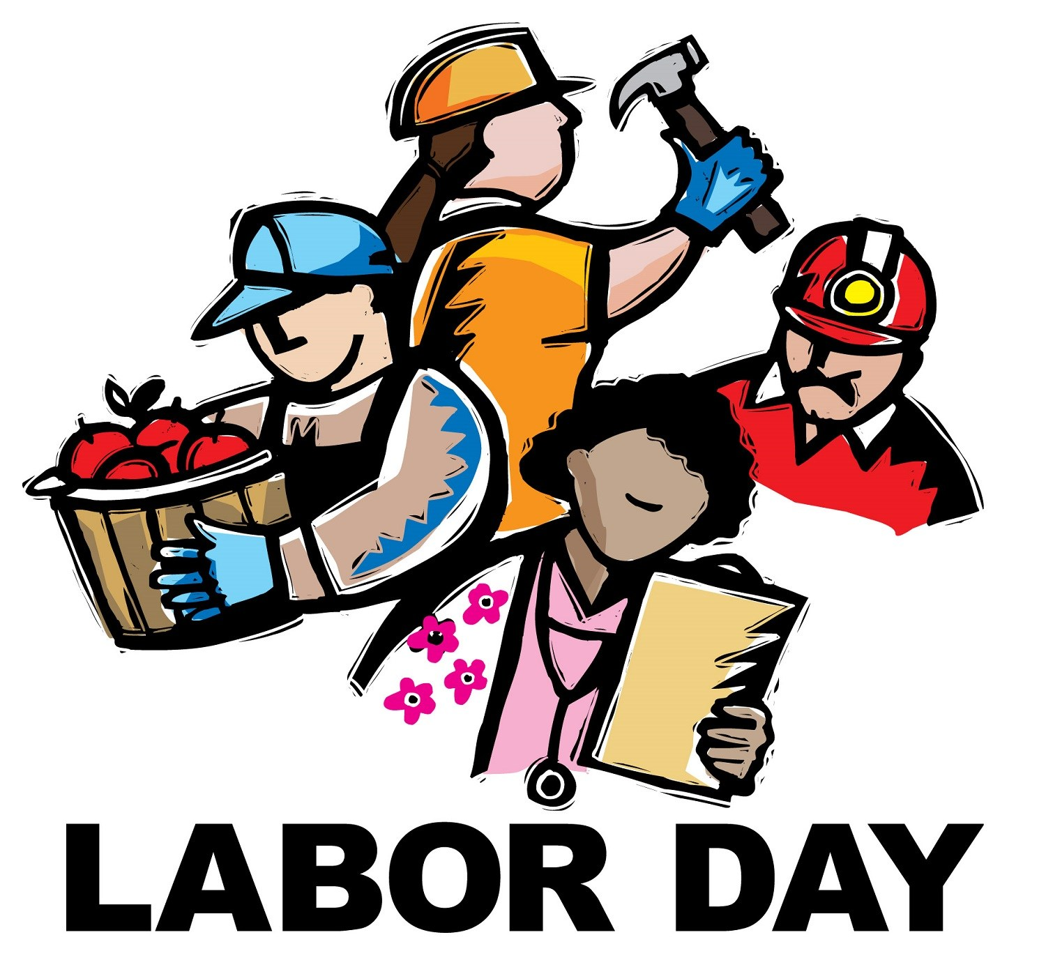 1500x1397 Labourlabor Day Games Amp Activities Crafts, Clipart, Sketch
