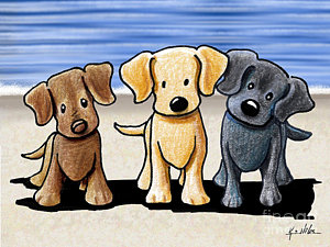 Labrador Cartoon Drawing At Getdrawings Com Free For