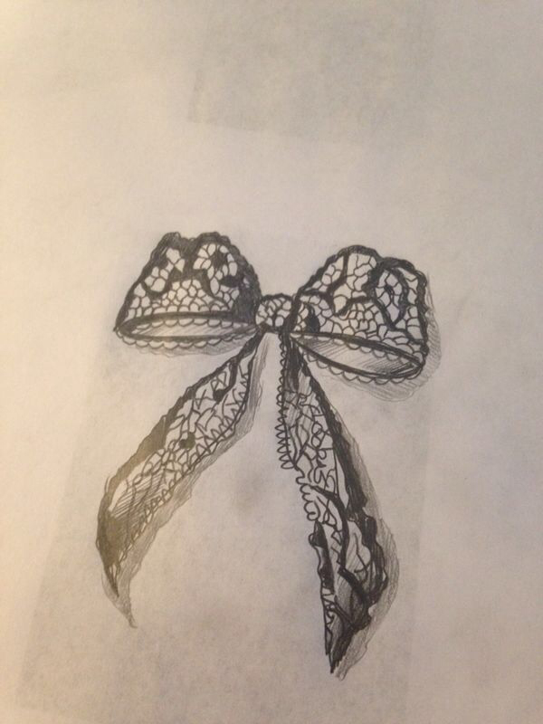 600x800 Lace Bow Body Art And Ink All Over Lace Bows