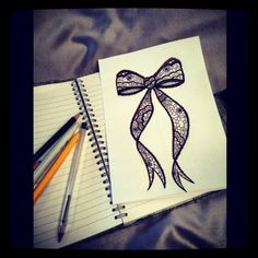 236x236 My Pretty Little Lace Bow Drawing Next Tattoo I Think Recipes