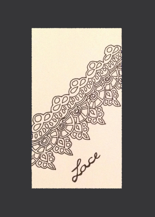 500x699 How To Draw Pretty , Beautiful Lace Drawings Draw
