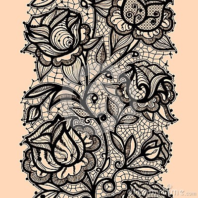 400x400 Simple Lace Patterns Drawing Abstract Lace Ribbon Roze Lace