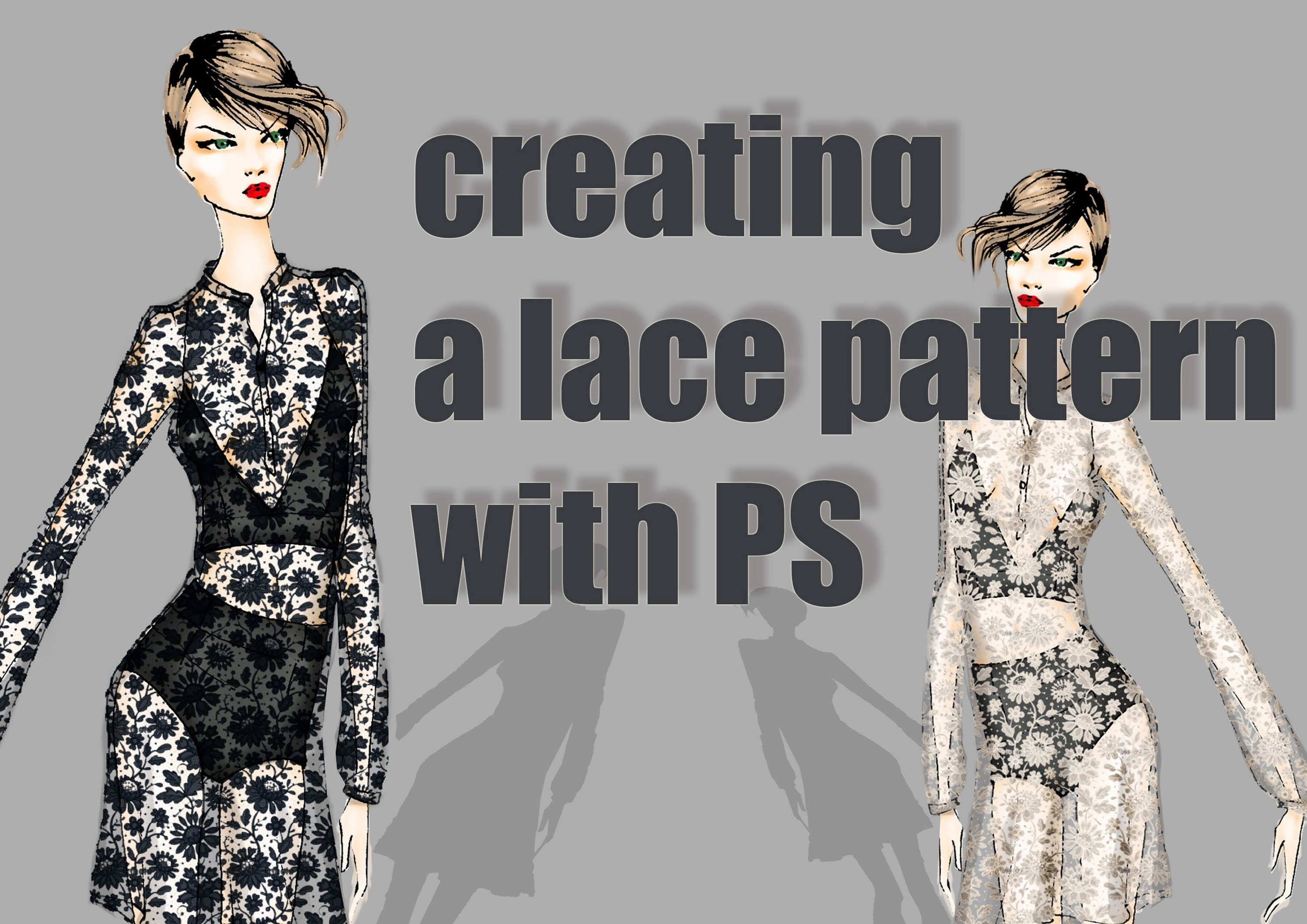 3000x2121 How To Create A Pattern In Ps White Lace (Advanced)