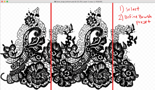540x313 Lace Tutorial Tumblr