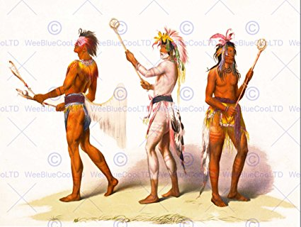 425x320 Paintings Drawing Sport Native American Indian
