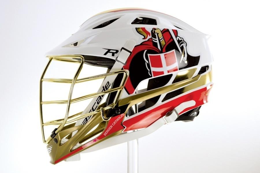 900x600 Bergen Catholic Cascade R's With Headwrapz Decals Inside Lacrosse