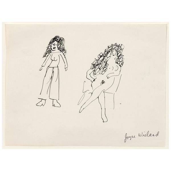 600x600 Caviar20 Joyce Wieland Two Ladies Drawing