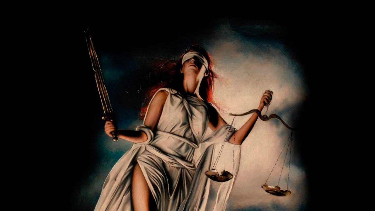 1280x720 Drawing Lady Justice