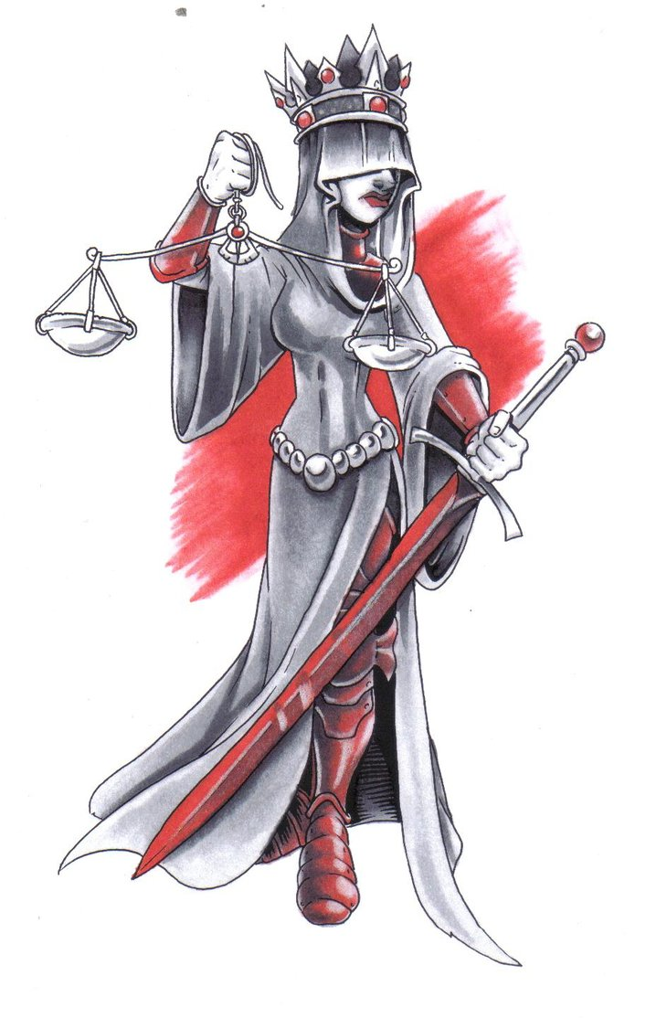 718x1114 Lady Justice Colored By Matt Henegar