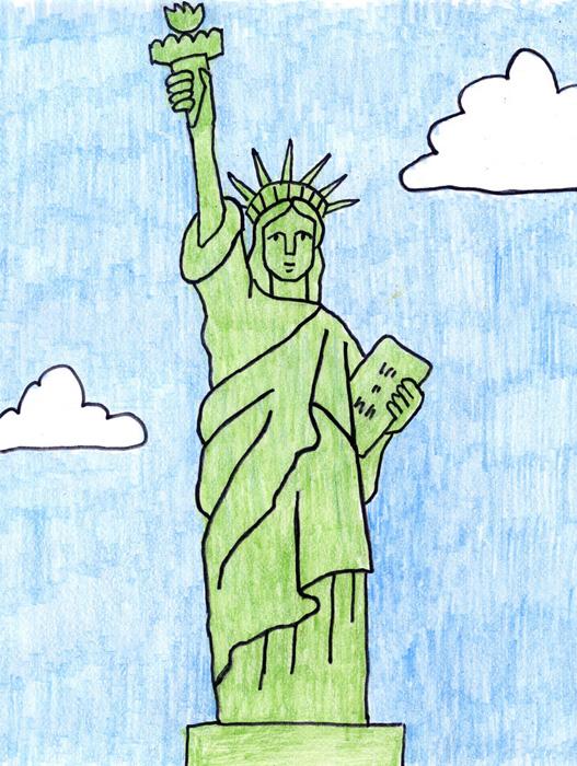 527x700 Statue Of Liberty