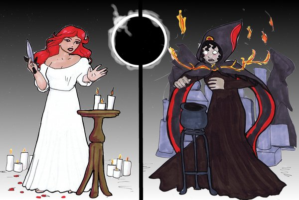 600x402 Lady Macbeth And The Witches By Willowanderer