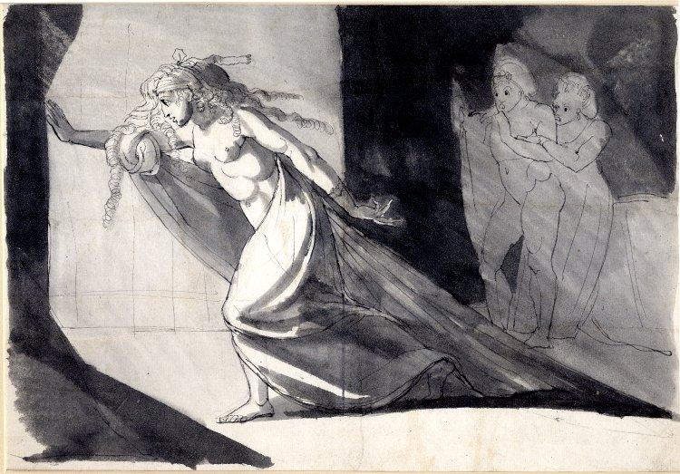 750x523 Spencer Alley Henry Fuseli Drawings