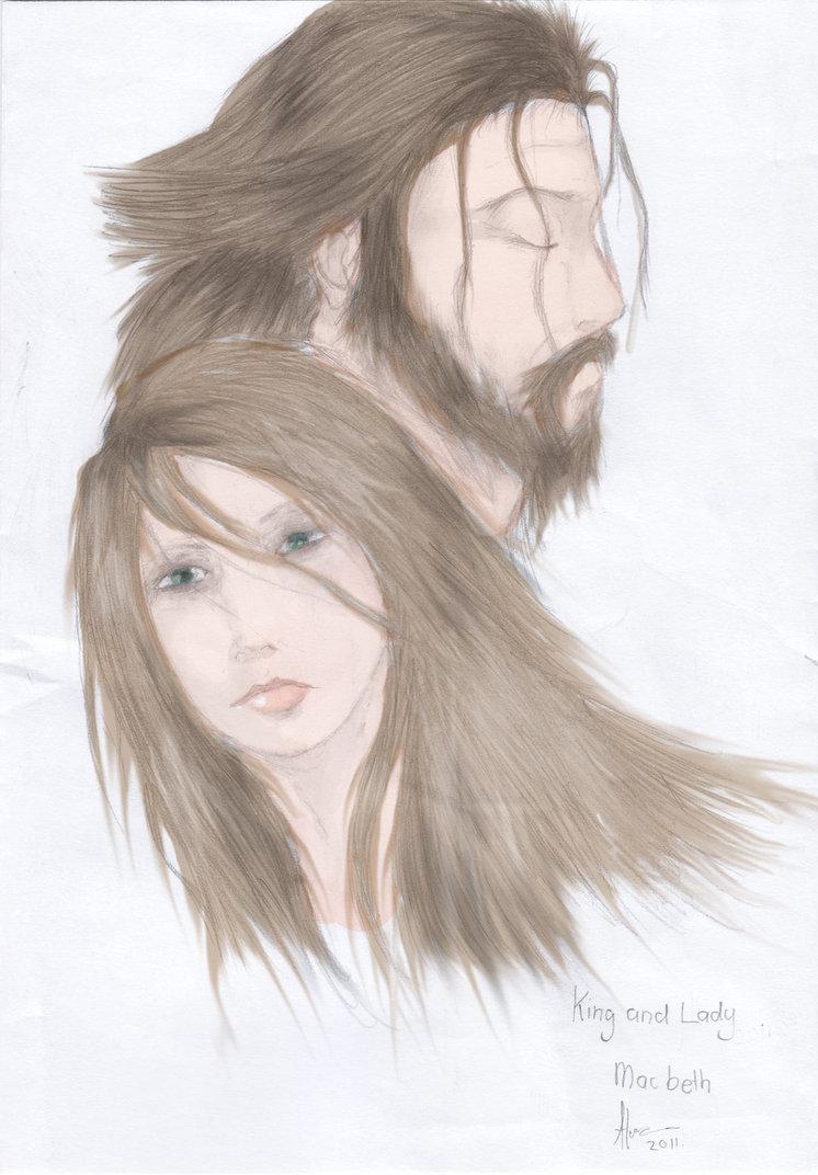 746x1072 Lady Macbeth And King Macbeth By Ardykid