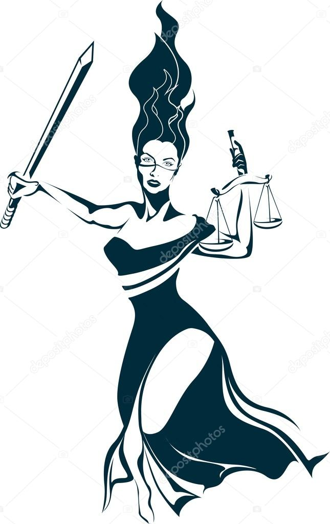 645x1024 Lady Justice Illustration Vector Stock Vector Doarnora.yahoo