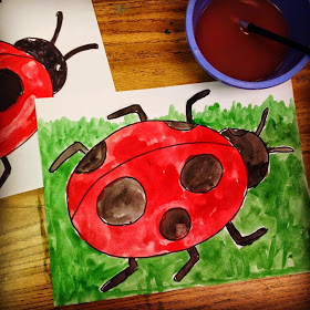 280x280 Art Projects For Kids Ladybug Painting Sophia!!! Lt3
