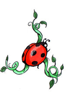 300x381 Ladybug Tattoos Ladybug Tattoos For Women Tattoo On Foot