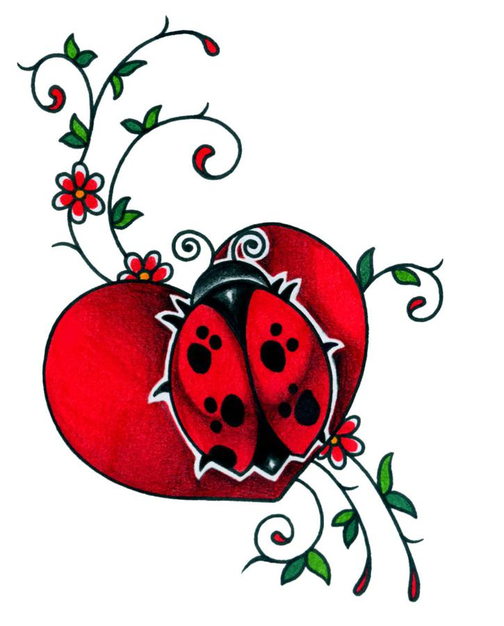 725x900 Ladybug Tattoos And Designs Page 30 My Style