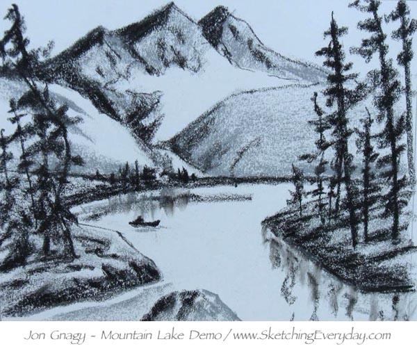 600x505 Drawing Everyday Jon Gnagy